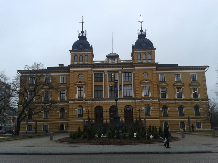 Some city hall in central Oulu.