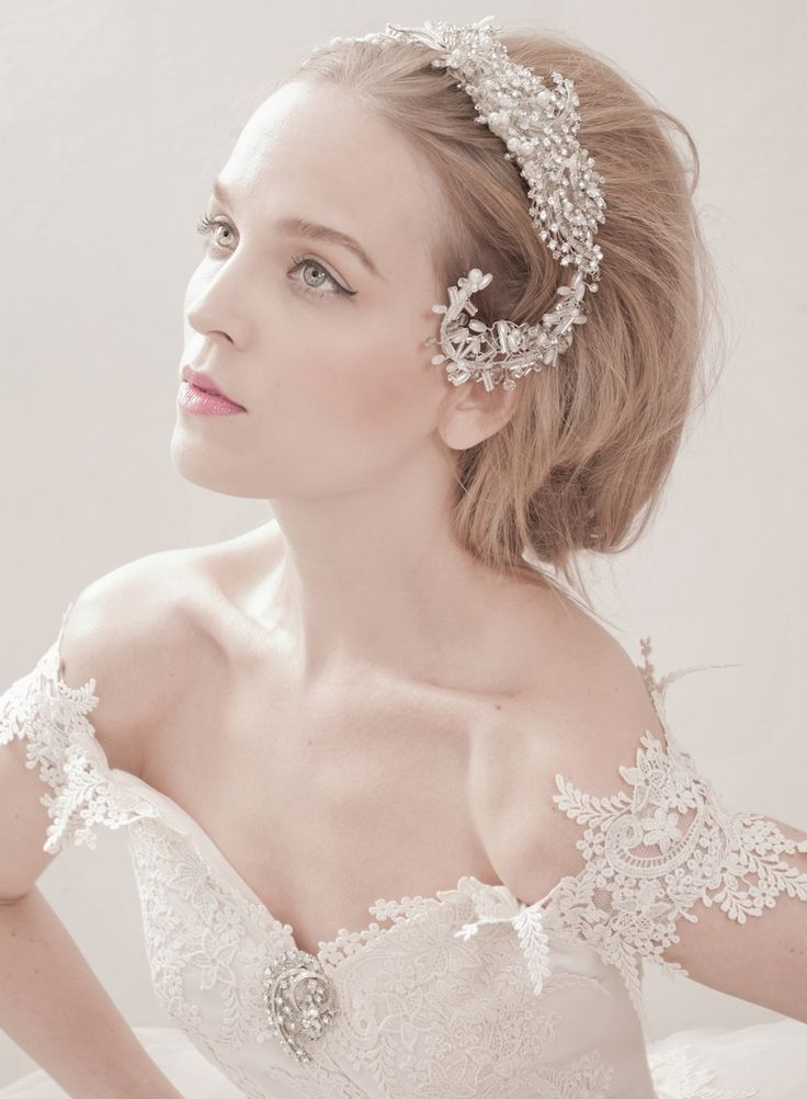 7 best Wedding Headpieces images on Pinterest | Wedding headpieces ...