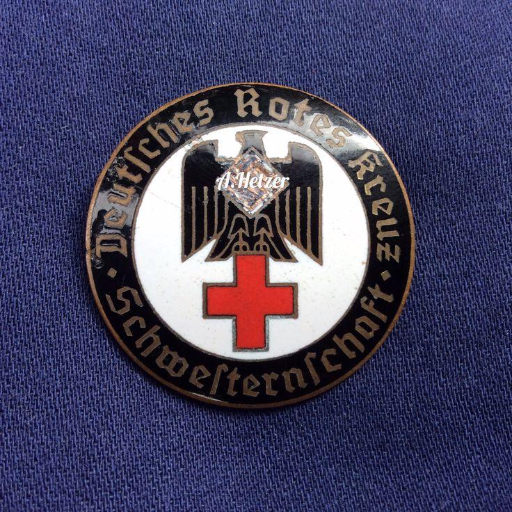#drk Deutsches Rotes Kreuz nurse's badge #schwesternschaft #ww2 #wk2 #faleristics #фалеристика