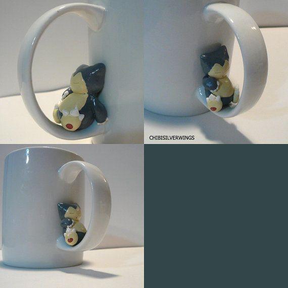 The Snorlax Mug Will Actually Help Keep You Awake