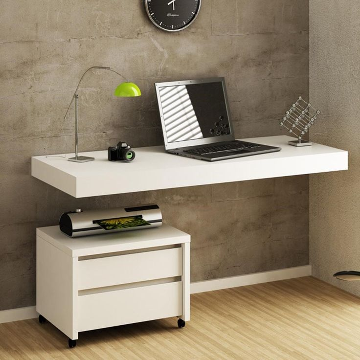 25 Best Floating Desk Ideas On Pinterest Industrial