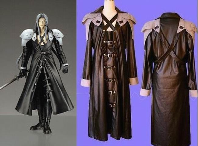 Final Fantasy Sephiroth Cosplay Costume Clothes FFCS7670