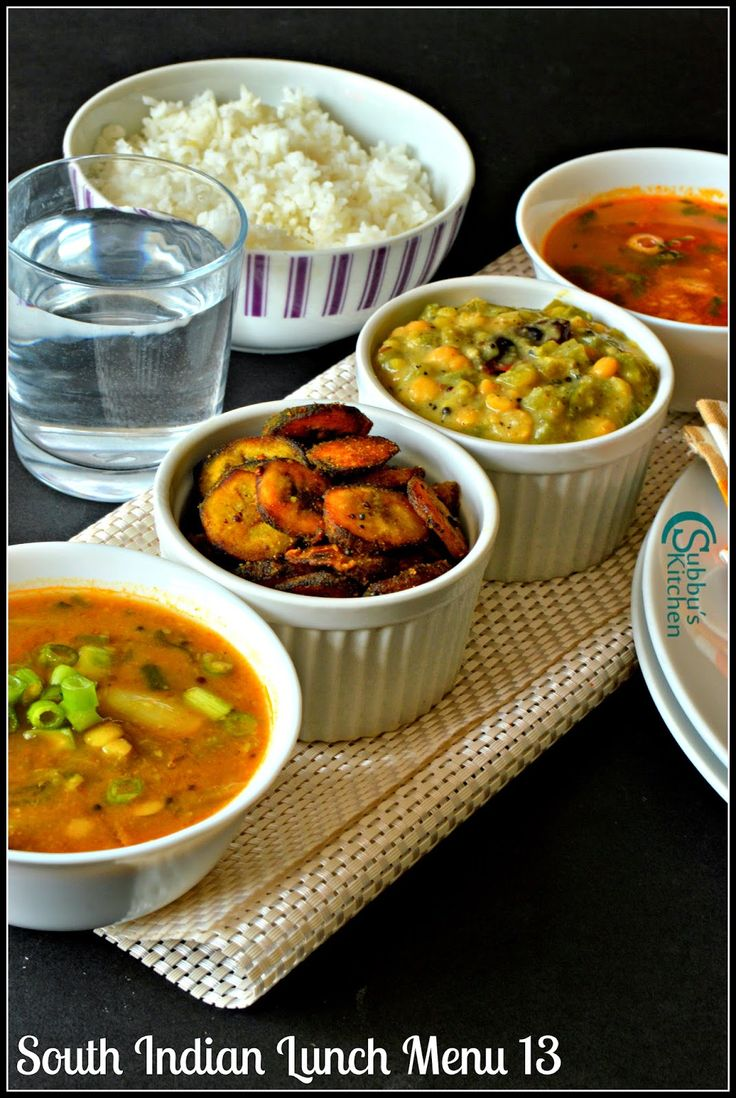 33 best south indian lunch menu images on pinterest lunch menu south indian lunch menu 13 spring onion sambar capsicum kootu vazhakkai fry poricha rasam and pappad subbus kitchen forumfinder Gallery