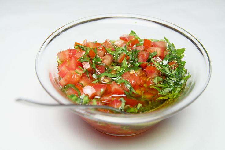 Sauce vierge | The Happy Cooking Friends