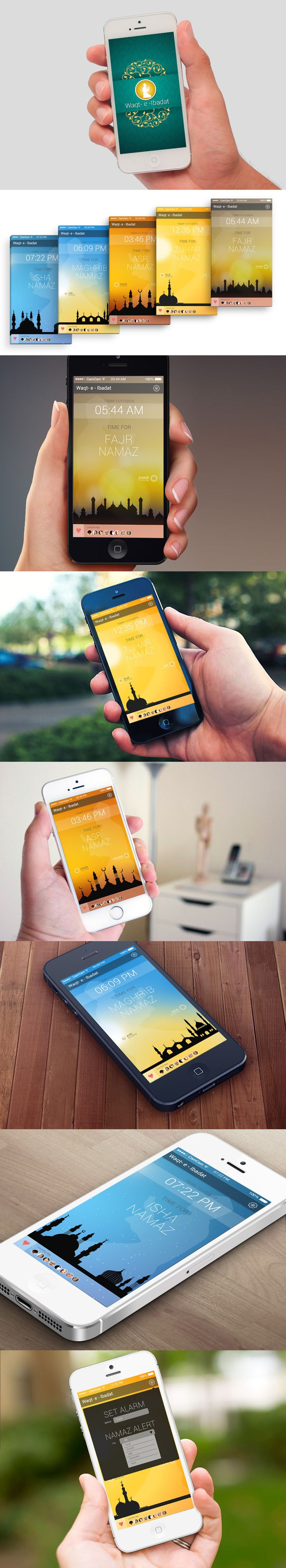 It is an app which indicates namaz timings, it's change themes automatically according to timings.