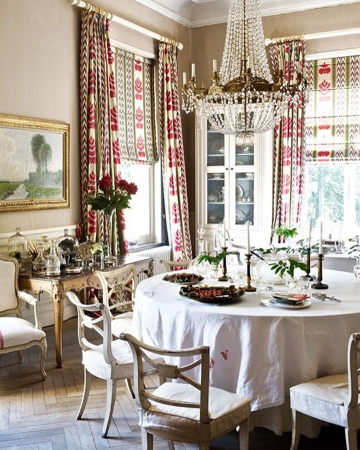 Dining Room Drapes: Dining Room Curtains, Window Treatments Living