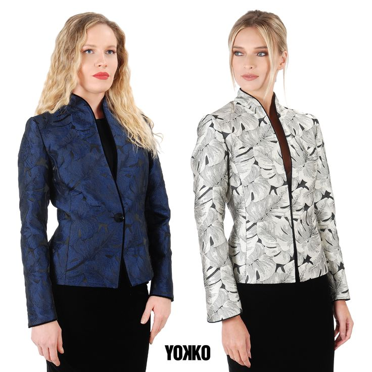 This winter wear brocade jackets! #yokko #brocadejacket #madeinromania