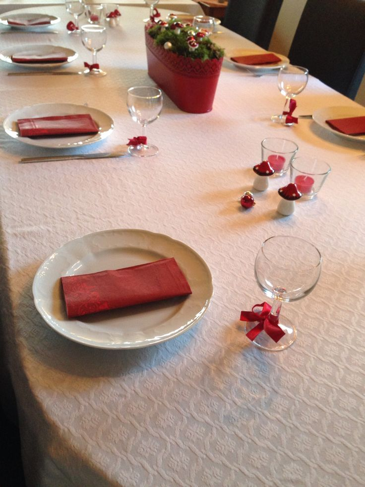 Christmas table #red #IKEA
