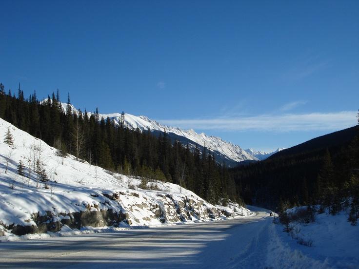 Near Jasper in the Canadian Rockies