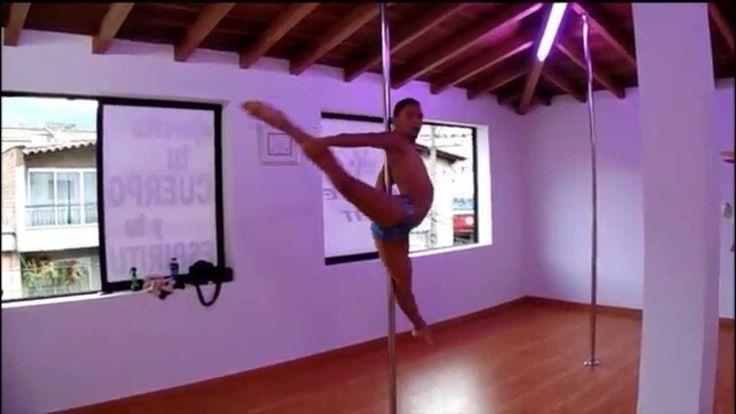 Libélula - Male Pole dance - Sebastian Hernández