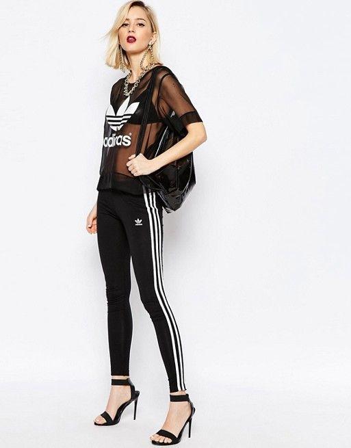 Adidas   Adidas Originals - Adicolour - Leggings à 3 bandes