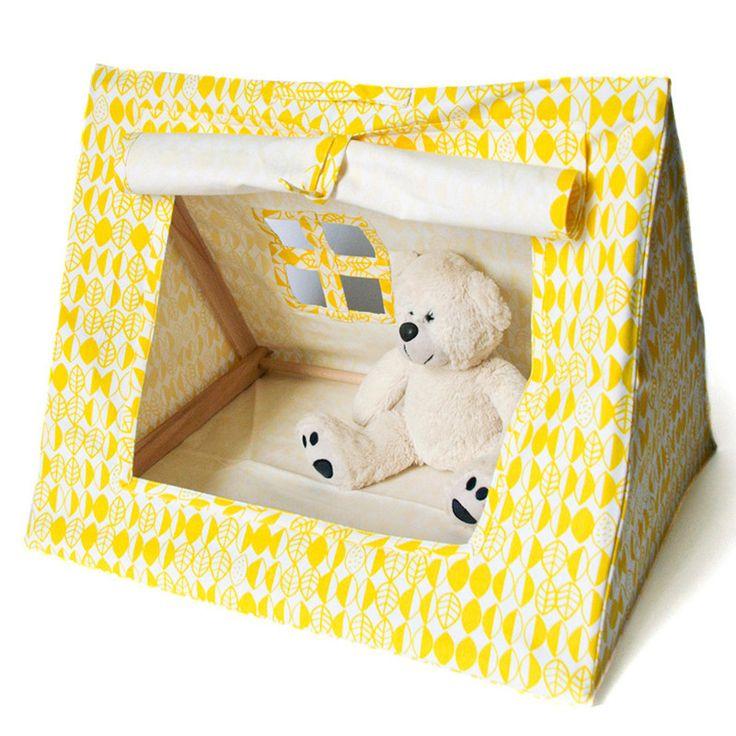The Mini Tent - Yellow