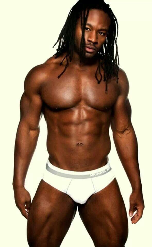 schwarzer sexy Mann