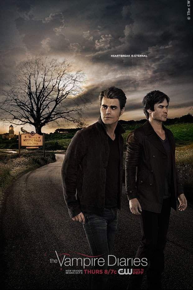 Keine gute Nachrichten für Fans von Vampir-Romanzen! Erst Elena, dann Bonnie, jetzt Damon. Einer der Hauptdarsteller meint: Vampire Diaries - Serienende nach Staffel 8 ➠ https://www.film.tv/go/7S