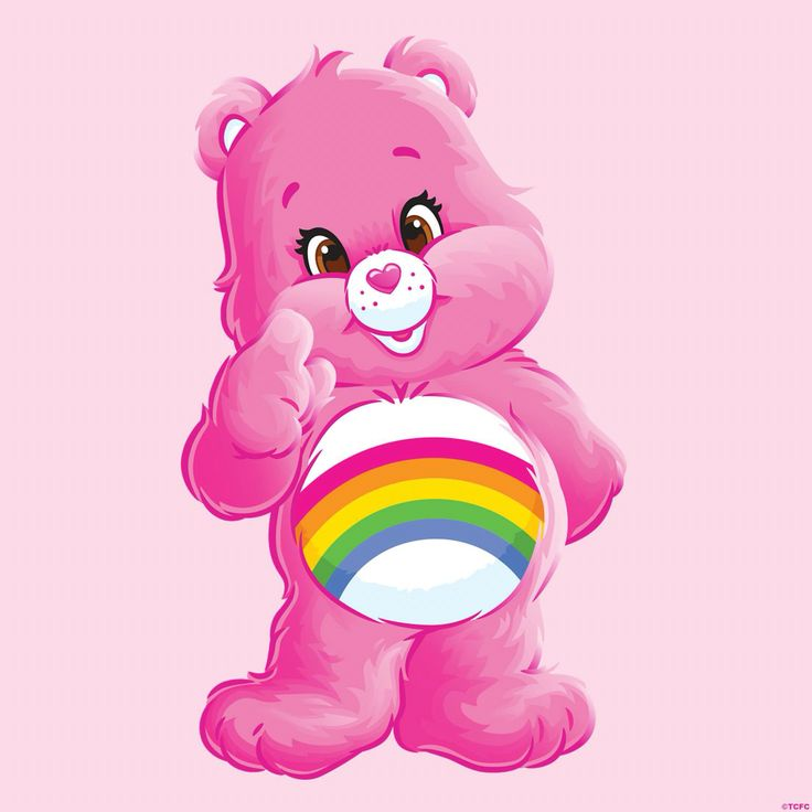 "<3 ""Cheer Rainbow Care Bear"" <3 Lil miss know it all! ""Wait a minute!...I have the perfect solution for happiness, JOY, success & a cheer~filled LIFE!!!"" <3"