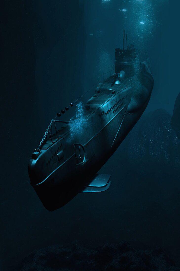 submarino Alemán, U 858