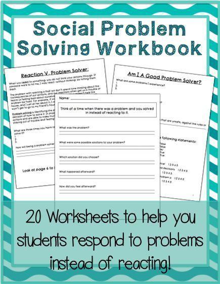 Social Problem Solving Workbook Foster Care Problem
