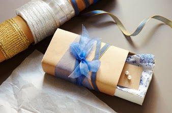 Apró ajándékok csomagolása