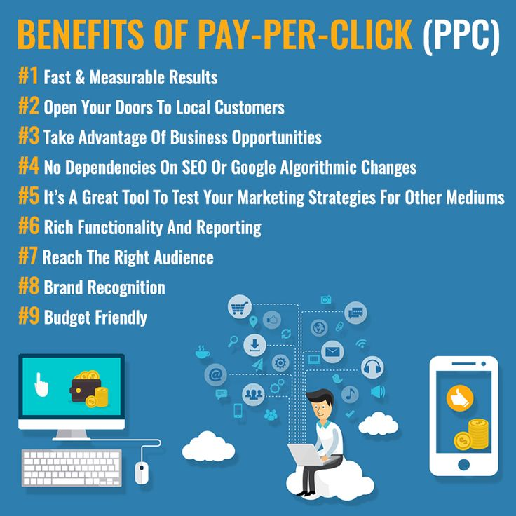 Benefits Of Pay Per Click (PPC) #Fastmeasurableresults #Takeadvantage #Businessopportunities #Brandrecognition #Budgetfriendly