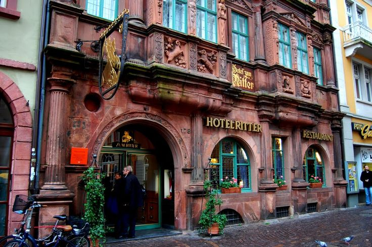 Always wanted to go here when I was in Heidelberg. Hotel Ritter and Restaurant Heidelberg Germany