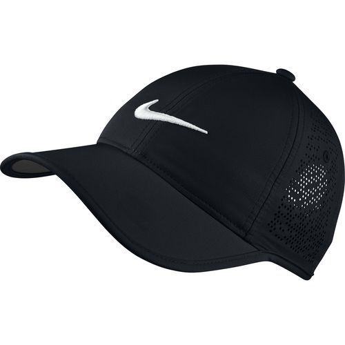 Nike Golf Women's Perforated Adjustable Hat - Black/White