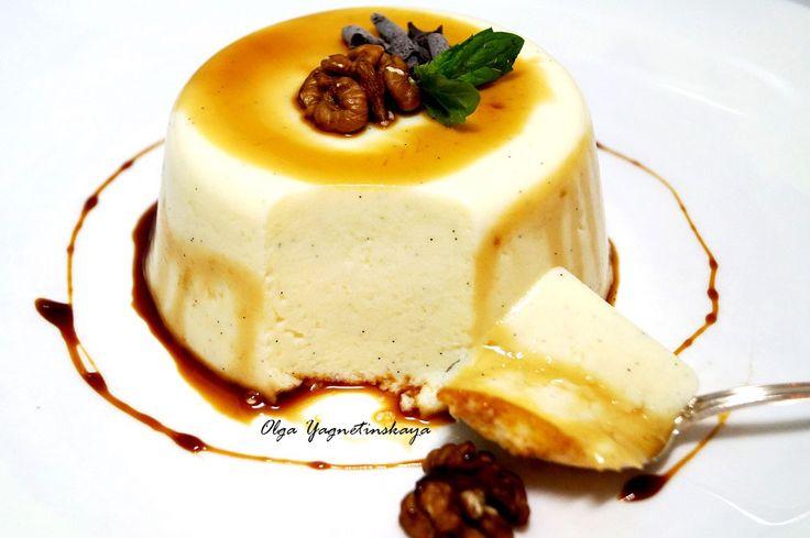 Ванильная диетическая Панакотта - диетические десерты  - Полезные рецепты - Правильное питание или как правильно похудеть