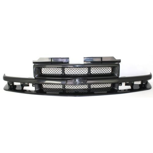 1998-2003 Chevy S10 Pickup Grille, Black