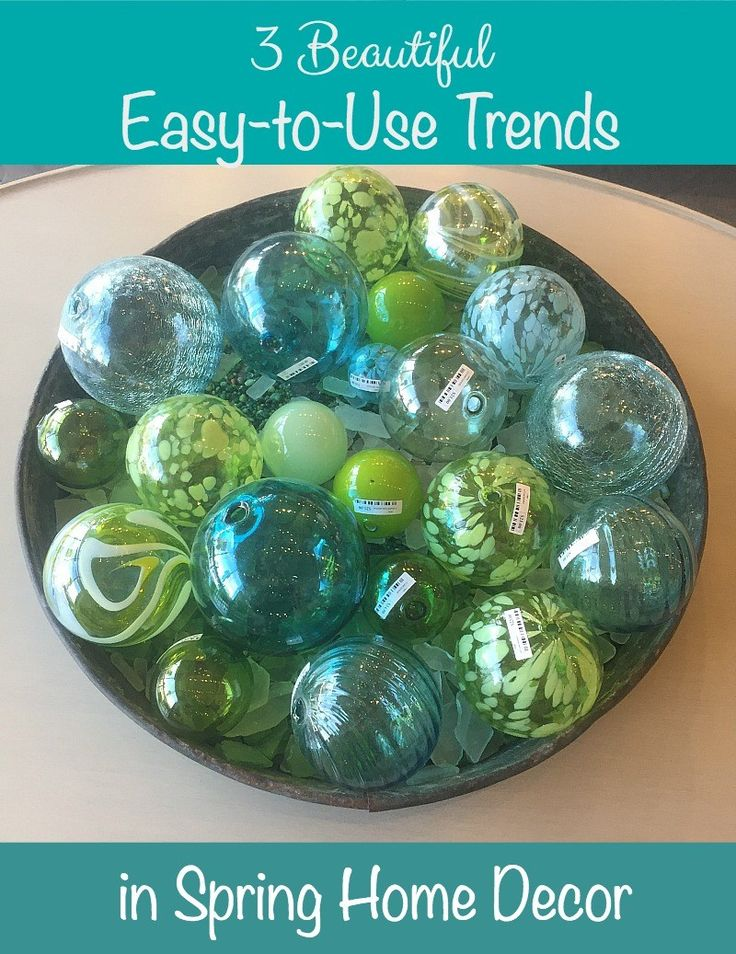 3 Beautiful Easy-to-Use Trends in Spring Home Decor
