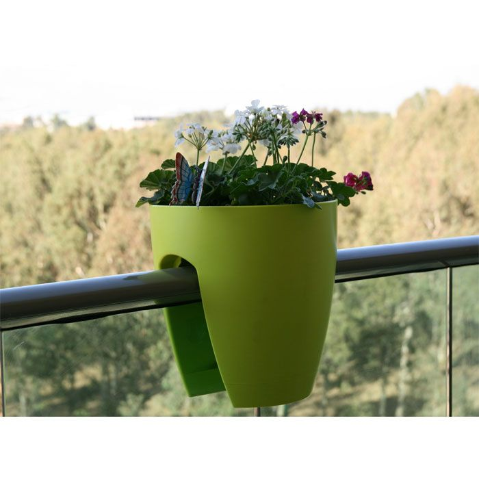 Modern Railing Planters Custom By Rushton: Best 25+ Balcony Planters Ideas On Pinterest
