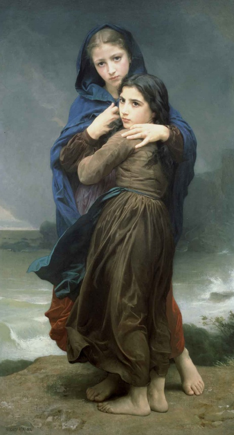 L'Orage by William Bouguereau