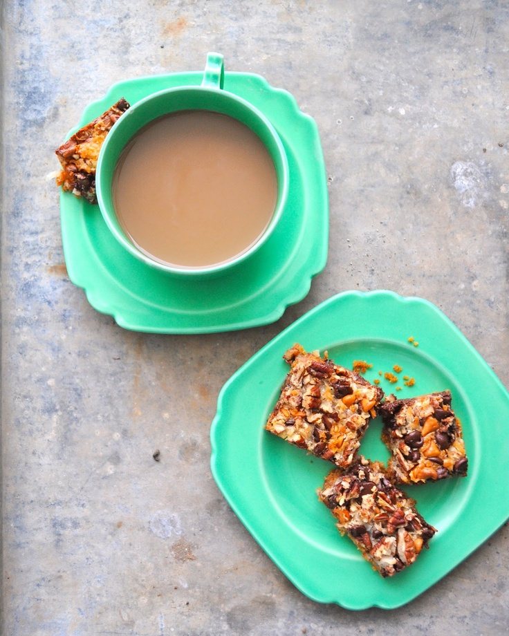 Almost Endearing: Magic Cookie Bars | Sweets | Pinterest