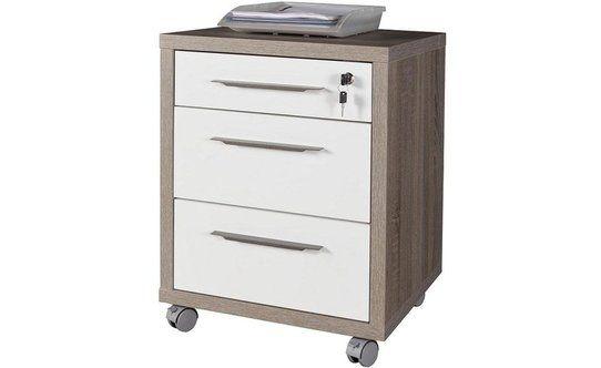 Mobiletto 3 cassetti scrivania Disegno tartufo – Conforama