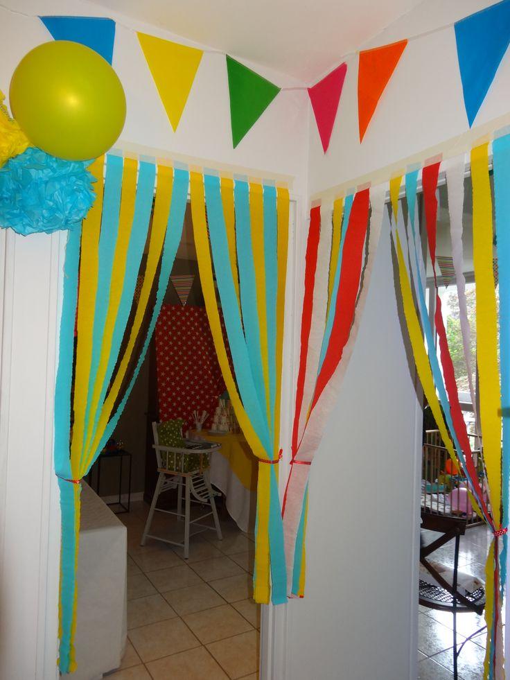 anniversaire cirque 7 ans