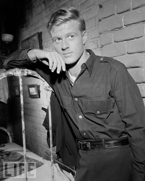 """Robert Redford as an Angel of Death in an early Twilight Zone episode. """"Nothing In The Dark"""""""
