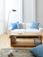 We Want To Move Into This Small-Space Japanese Home #refinery29  http://www.refinery29.com/muji-urban-apartment