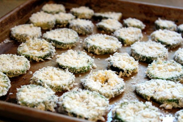 Baked Breaded Zucchini - The Cottage Mama