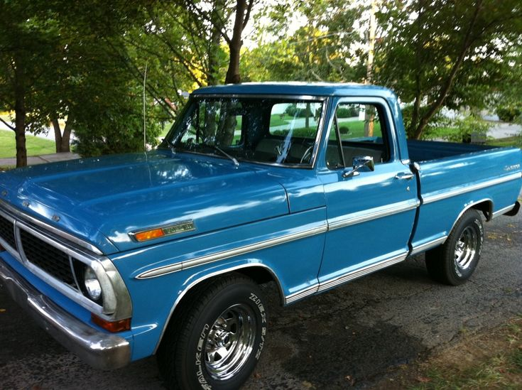 Old Ford Trucks : If i didn t have kids would probably drive around an