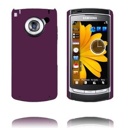 Hard Shell (Lilla) Samsung i8910 Omnia HD Deksel