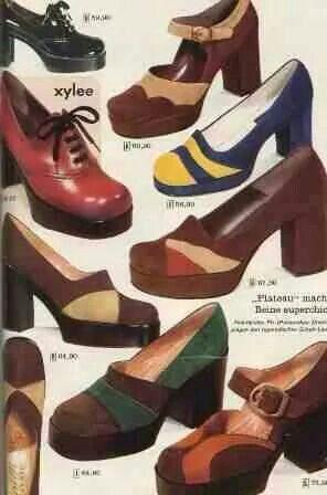 70's shoes - weer helemaal terug
