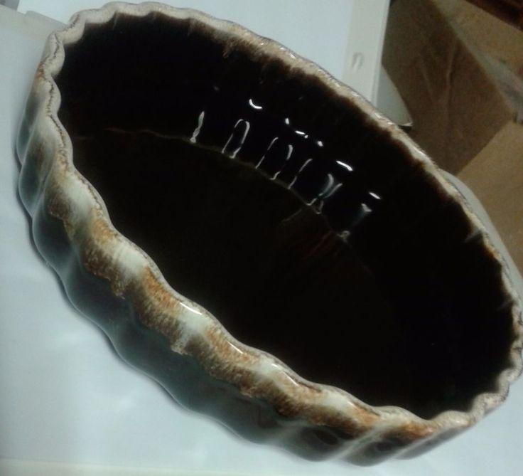 Pfaltzgraffe Brown Glaze 9' Quiche Souffle Dish #233 Excellent Condition - Rare