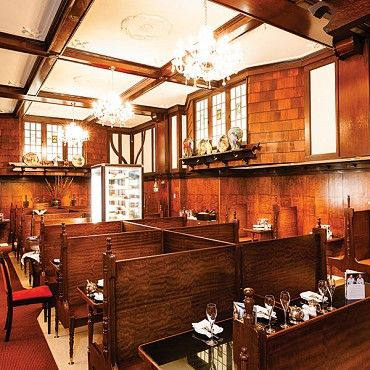 The Shingle Inn's unique architecture created a distinctive and quaint character unlike any other café in the city, featuring a shingled exterior, panelled interior, dark beamed ceilings and small windows of many panes #boh2014 #unlockbrisbane #brisbane #discoverbrisbane