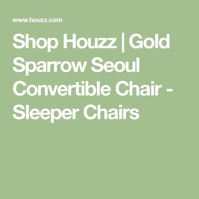 Shop Houzz | Gold Sparrow Seoul Convertible Chair - Sleeper Chairs