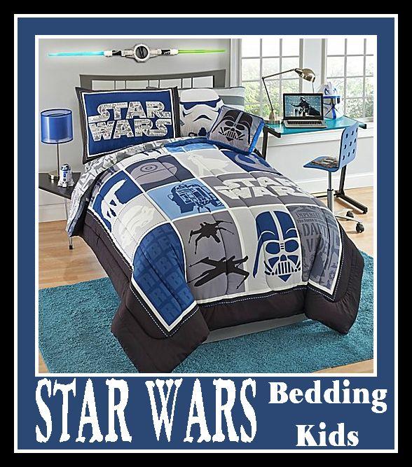 Star Wars Bedding for Kids #StarWars #StarWarsMovie #Bedding