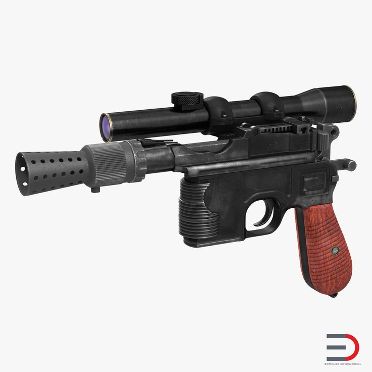 Star Wars Han Solo Blaster Used 3d model  #StarWars #HanSoloBlaster #3d #model http://www.turbosquid.com/FullPreview/Index.cfm/ID/981969?referral=3d_molier-International