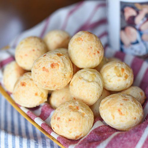 Stop Everything You're Doing and Try This Brazilian Pão de Queijo Recipe: This chewy treat from Brazilian Flair in the USA is packed with delicious parmesan cheese and works great as a breakfast option, snack, or simple side.