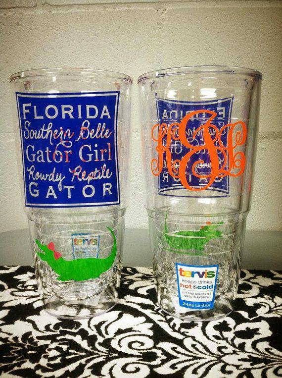 Southern Belle Gator Girl 24 oz. Tervis Tumbler by SouthardBelle, $35.00