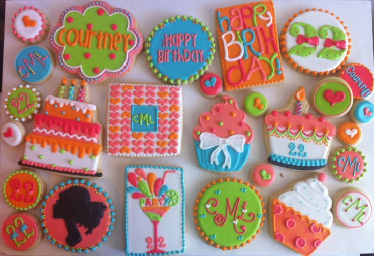 22nd birthday cookie - Yahoo Image Search Results