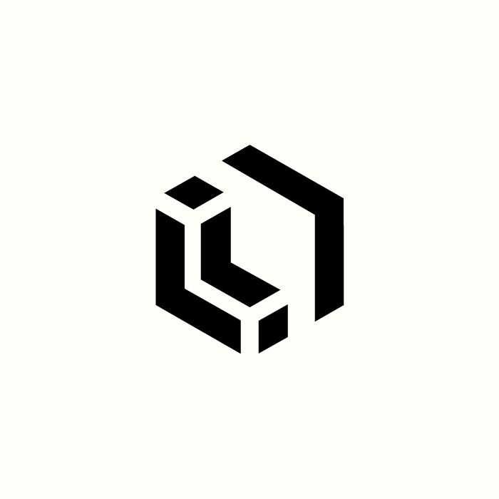 L, Blocks, Architecture Logo by Richard Baird. (Available) #branding #design