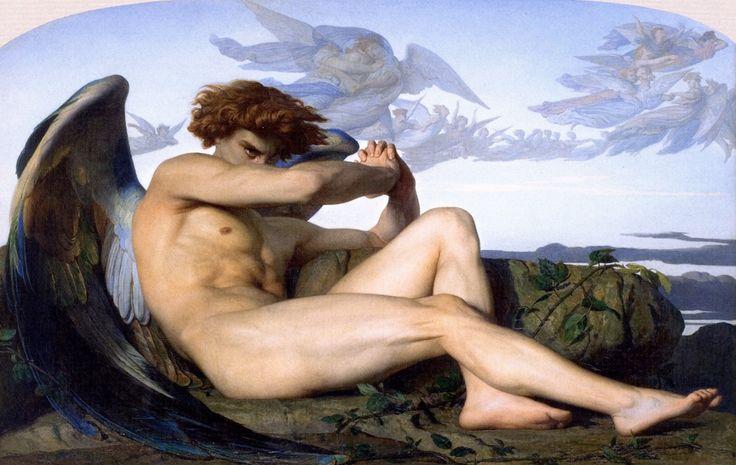 Alexandre Cabanel, Fallen Angel, 1847