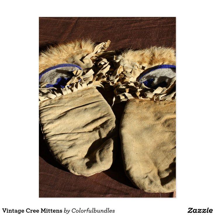 Vintage Cree Mittens